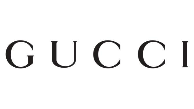 logo gucci white