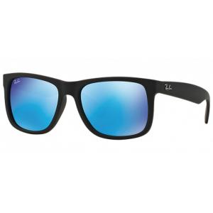 rayban-justin-4165-espejo-azul-negro-mate