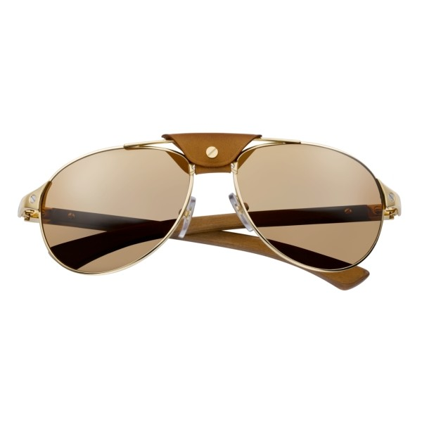 Cartier-Santos-T8200862-gold-wood-front