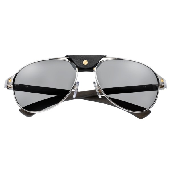 Cartier-Santos-T8200864-silver-wood-front