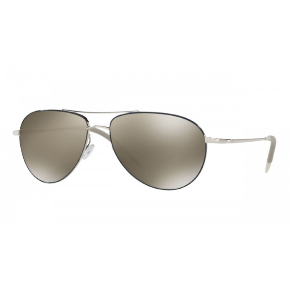 oliver-peoples-benedict-enamel-silver-navy-ov1002s