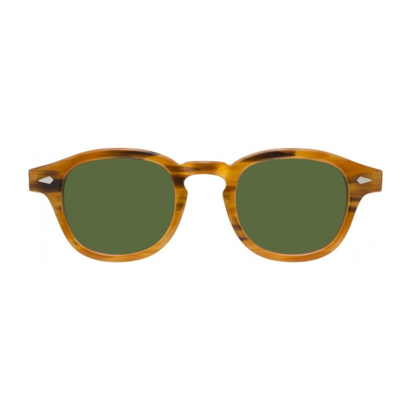 Moscot-lemtosh-blonde-green-sun-front