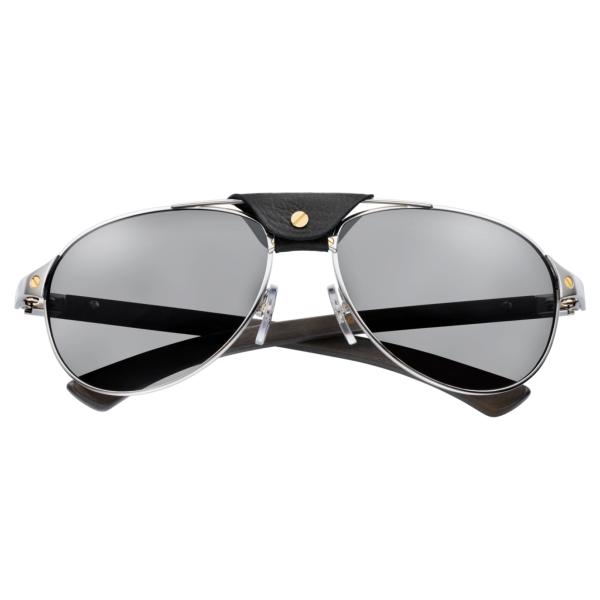 Cartier-Santos-T8200864-silver-wood-front
