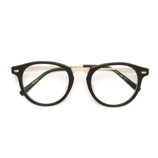 Matsuda-2027-GOLD-22k-MBK-BG-front-exclusive-opticacliment