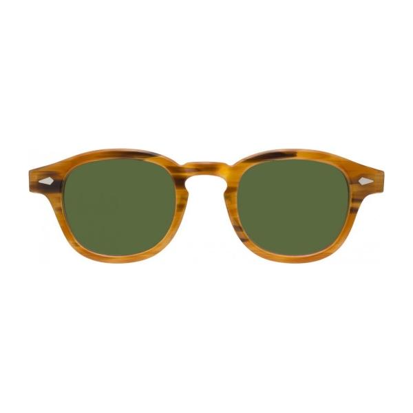 Moscot-lemtosh-blonde-green-sun-front