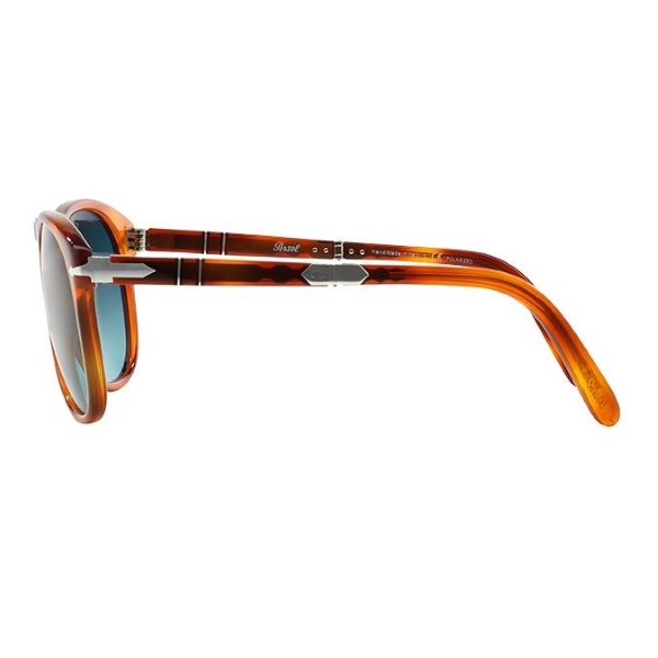 Persol-714SM-96-s3-light-havana-steve-mcqueen-side-left